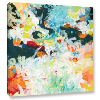 Brushtone Floral Garden 3 Gallery Wrapped Canvas Wall Art