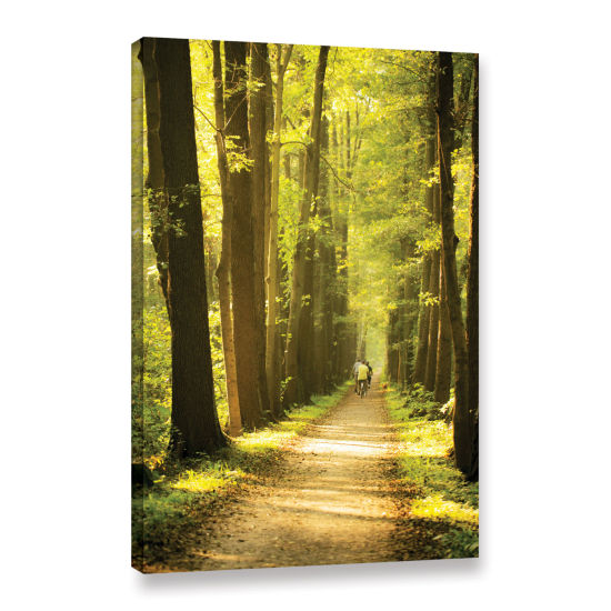 Brushtone Forest Spreewald Gallery Wrapped CanvasWall Art