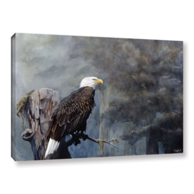 Brushtone Freedom Haze Gallery Wrapped Canvas WallArt