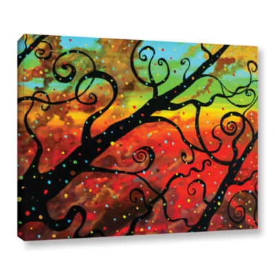 Brushtone Fly Away Gallery Wrapped Canvas Wall Art