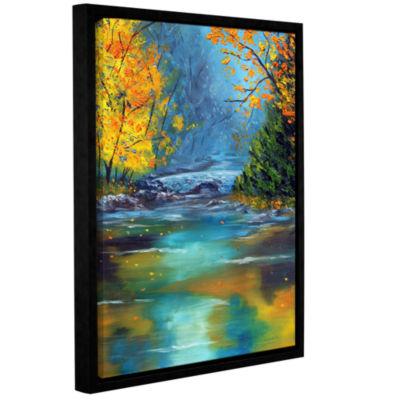 Brushstone Assurance Gallery Wrapped Framed CanvasWall Art
