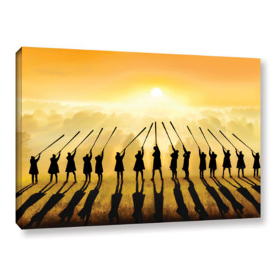 Brushstone Anthem Of The Sun Gallery Wrapped Canvas Wall Art
