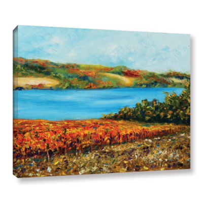 Brushstone Autumn Harvest Gallery Wrapped Canvas Wall Art