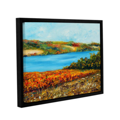 Brushstone Autumn Harvest Gallery Wrapped Framed Canvas Wall Art