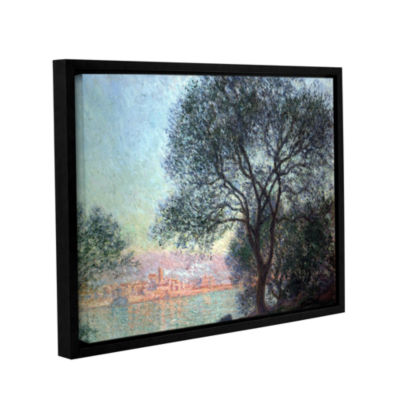 Brushstone Antibbes Gallery Wrapped Framed CanvasWall Art