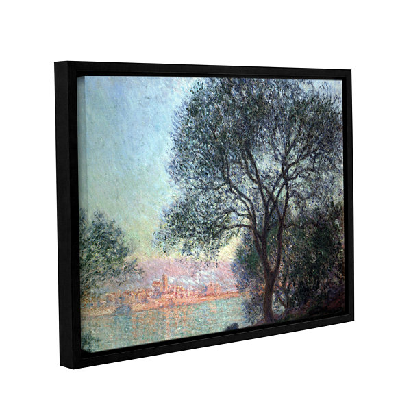 Brushstone Antibbes Gallery Wrapped Framed CanvasWall Art