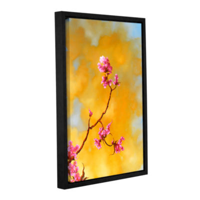 Brushstone Del Ray Bloom Gallery Wrapped Floater-Framed Canvas Wall Art