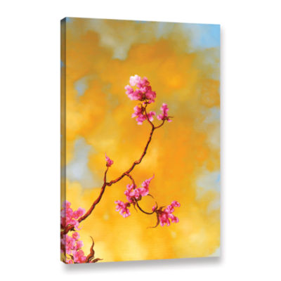Brushstone Del Ray Bloom Gallery Wrapped Canvas Wall Art