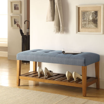 Charla Tufted Bench
