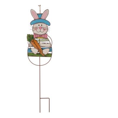 Glitzhome Bunny Holiday Yard Art