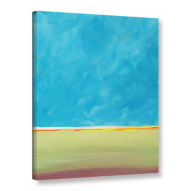 Brushstone Earth Meets Sky 2 Gallery Wrapped Canvas Wall Art