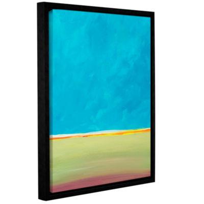 Brushstone Brushstone Earth Meets Sky 2 Gallery Wrapped Floater-Framed Canvas Wall Art