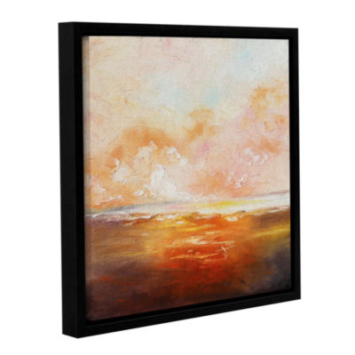 Brushstone Brushstone Eclipsed By Glory Gallery Wrapped Floater-Framed Canvas Wall Art