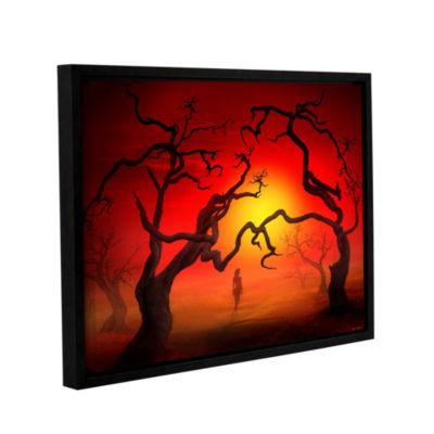 Brushstone Brushstone Eden Stroll Gallery WrappedFloater-Framed Canvas Wall Art