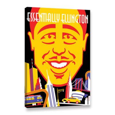 Brushstone Ellington Gallery Wrapped Canvas Wall Art