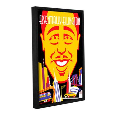 Brushstone Brushstone Ellington Gallery Wrapped Floater-Framed Canvas Wall Art