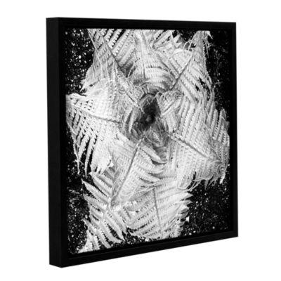 Brushstone Fern Gallery Wrapped Floater-Framed Canvas Wall Art