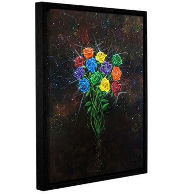 Brushstone Enchanted Gallery Wrapped Floater-Framed Canvas Wall Art