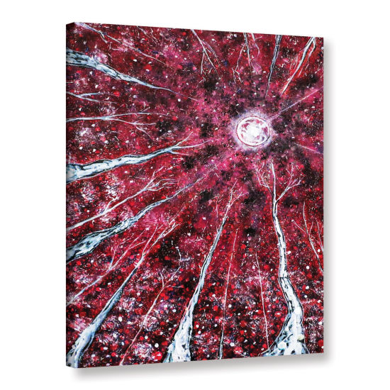 Brushstone Brushstone Crimson Winter Gallery Wrapped Canvas Wall Art
