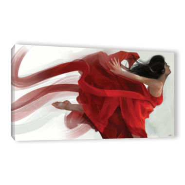 Brushstone Dance Gallery Wrapped CanvasWall Art