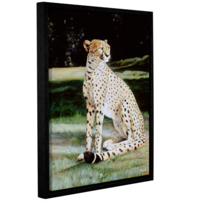 Brushstone Crowned Regal Gallery Wrapped Floater-Framed Canvas Wall Art