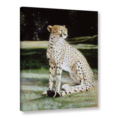 Brushstone Crowned Regal Gallery Wrapped Canvas Wall Art