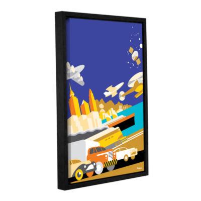 Brushstone Cworld Gallery Wrapped Floater-Framed Canvas Wall Art