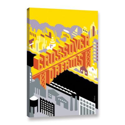 Brushstone Crossdreams Gallery WrappedCanvas WallArt
