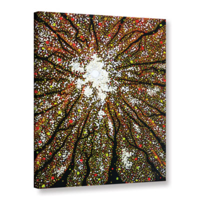 Brushstone Dancing Through Sunday Gallery WrappedCanvas Wall Art