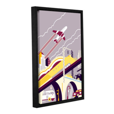Brushstone Crossover Dreams Gallery Wrapped Floater-Framed Canvas Wall Art