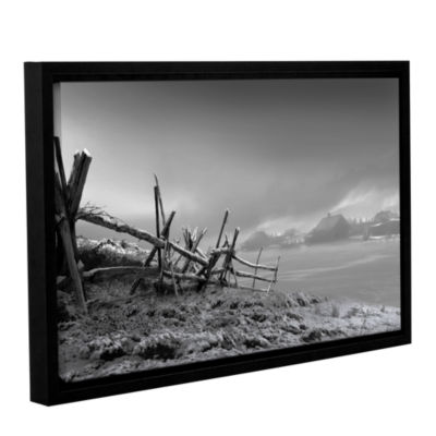 Brushstone Country Winter Gallery Wrapped Floater-Framed Canvas Wall Art