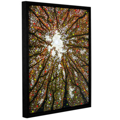 Brushstone Dancing Through Sunday Gallery WrappedFloater-Framed Canvas Wall Art