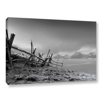 Brushstone Country Winter Gallery Wrapped Canvas Wall Art
