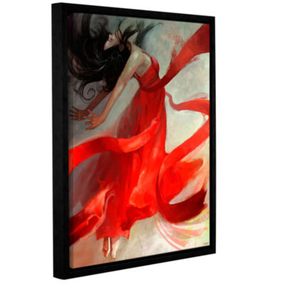 Brushstone Ascension Gallery Wrapped Framed CanvasWall Art
