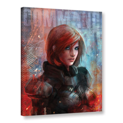 Brushstone Call Me Commander Gallery Wrapped Canvas Wall Art