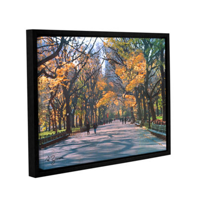 Brushstone Central Park Gallery Wrapped Floater-Framed Canvas Wall Art