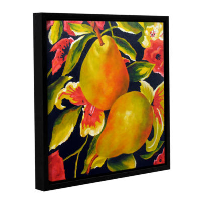 Brushstone Camouflage Gallery Wrapped Floater-Framed Canvas Wall Art