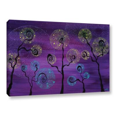 Brushstone Celestial Garden Gallery Wrapped CanvasWall Art