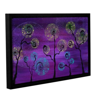 Brushstone Celestial Garden Gallery Wrapped Floater-Framed Canvas Wall Art