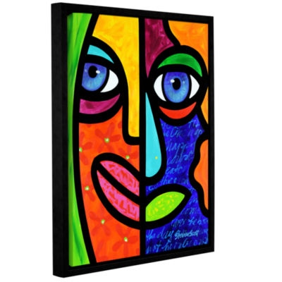 Brushstone Candy Dandee Gallery Wrapped Floater-Framed Canvas Wall Art