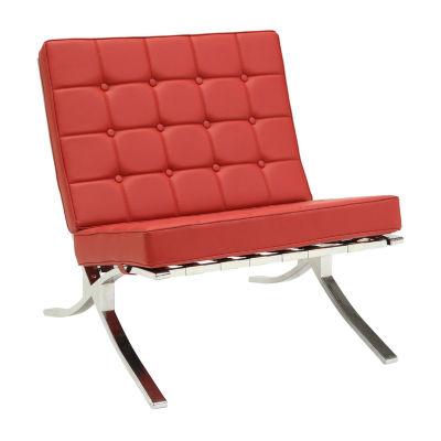 Elian Tufted Slipper Chair