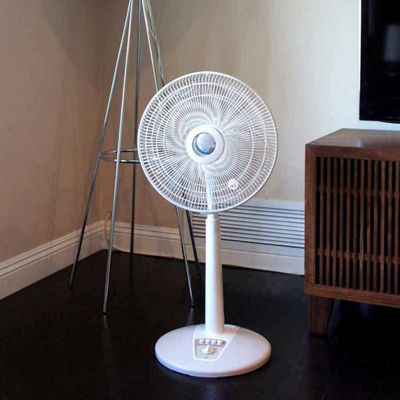 "SPT SF-1467: 14"" Oscillating Standing Fan"