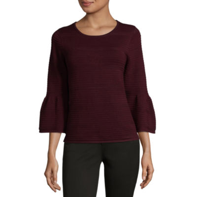 Isela Bell Sleeve Pullover Sweater