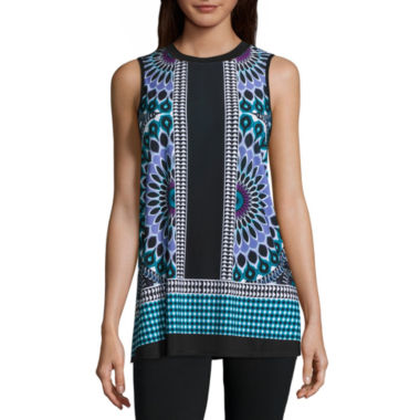 Alyx Border Printed Swing Tank