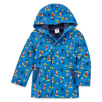 Disney Boys Mickey Mouse Raincoat-Preschool