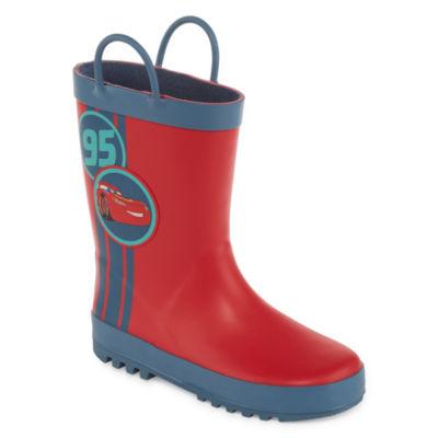 """Disney Cars Rain Boots-Boys"""" 1-13"""