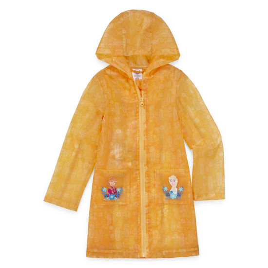 "Disney Girls Frozen Raincoat"" 2-10"
