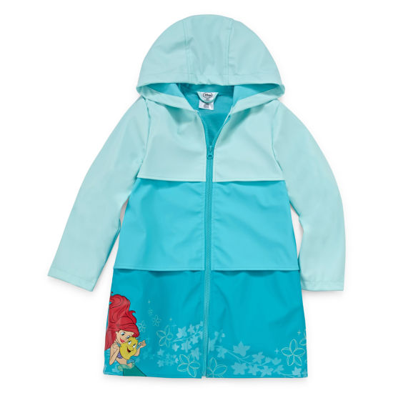 Disney Girls The Little Mermaid Raincoat-Big Kid