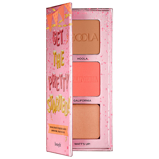 Benefit Cosmetics Get The Pretty Started! Bronze, Blush, & Highlight Palette
