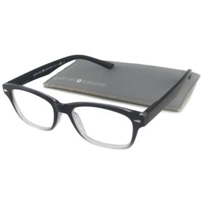 Gabriel + Simone Reading Glasses -Metro Black Fade